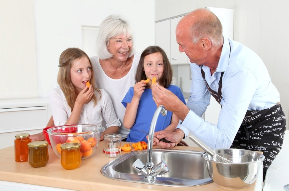 All ages, from kids to grandparents, enjoy cooking in a good kitchen