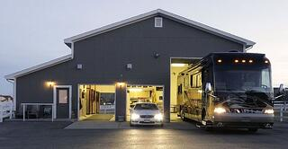 RV garage for your home