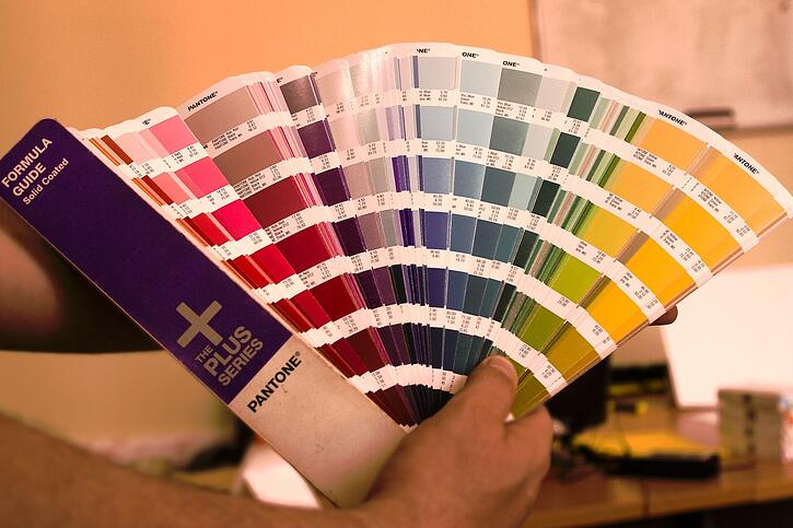 pantone swatchbook helps you choose colors for your custom home
